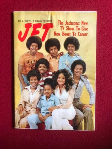 "1976, Michael Jackson (The Jacksons), ""JET"" Magazine (No Label) Scarce"