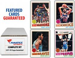 1977-78 Topps Basketball Complete 132 Card Set