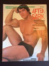 """1977 Arnold Schwarzenegger, """"After Dark"""" Magazine"""