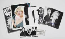 1977 Blondie & Original Band Signed by Deborah Harry & Chris Stien – JSA