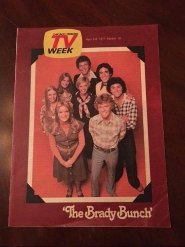 1977 Brady Bunch, Chicago Tribune TV Week Magazine