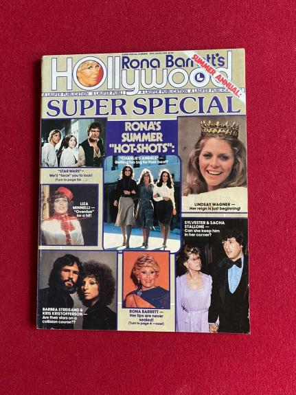 "1977, Charlie's Angels / Star Wars, ""Hollywood"" Magazine  (No Label) Scarce"