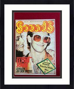 "1977, Elton John, ""Sounds "" Magazine (No Label) Scarce  (Rocket Man)"