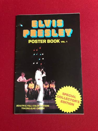 """1977, Elvis Presley, """"POSTER BOOK"""" (33 Large Color Images) Scarce"""