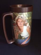 "1977 Farrah Fawcett, ""Charle's Angels"", Thermo Tumbler"