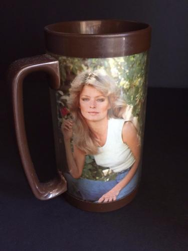 """1977 Farrah Fawcett, """"Charle's Angels"""", Thermo Tumbler"""