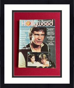 "1977, Harrison Ford, ""Star Wars"", Hollywood Magazine (No Label) Scarce / Vintage"