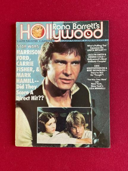 "1977, Harrison Ford, ""Star Wars"", Hollywood Magazine (No Label) Scarce / Vintage"