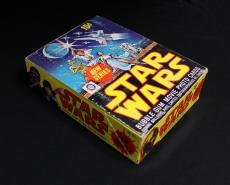 1977 O-Pee-Chee Star Wars Second Series Full Wax Box - Mint condition packs RARE