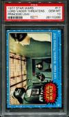 1977 Star Wars #17 Lord Vader Threatens Carrie Fisher Psa 10 N2513165-288