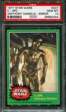 1977 Star Wars #207 C-3po (anthony Daniels)-error Psa 10 N2422717-454