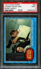1977 Star Wars #65 Carrie Fisher And Psa 9 N2532167-358