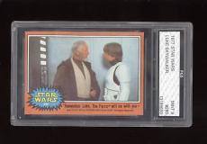 1977 Star Wars Luke Skywalker #280 FGS 9 MINT