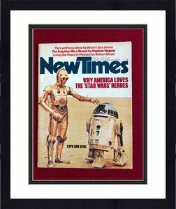 "1977 Star Wars,  ""New Times""  Magazine (No Label) Scarce"