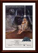 1977 Star Wars Original Movie Poster - Framed