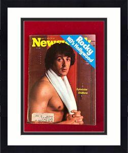 "1977, Sylvester Stallone, ""Newsweek"" Magazine  (Vintage / Scarce)"