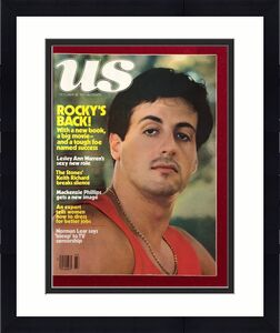 "1977, Sylvester Stallone, ""US "" Magazine (No Label) Scarce"