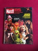 """1977, The MUPPETS, """"PARIS MATCH""""  Magazine (No Label) Scarce / Vintage"""