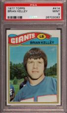 1977 Topps #414 Brian Kelley Giants Psa 9 F2409380-093
