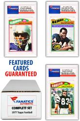 1977 Topps Football Complete Set of 528 Cards