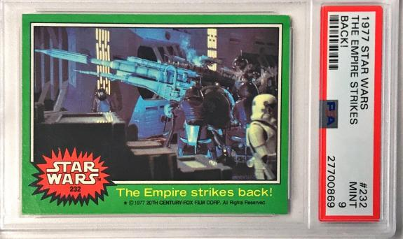 1977 Topps Star Wars The Empire Strikes Back #232 PSA 9 MINT