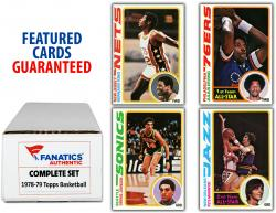 1978-79 Topps Basketball Complete 132 Card Set