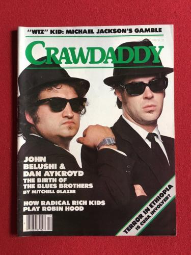 "1978, Blues Brothers, ""CRAWDADDY"" Magazine (No Label)"