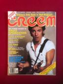 "1978, Bruce Springsteen, ""CREEM"" Magazine (No Label) Scarce"
