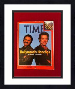 "1978, Burt Reynolds / Clint Eastwood, ""TIME"" Magazine (No Label)  Vintage"