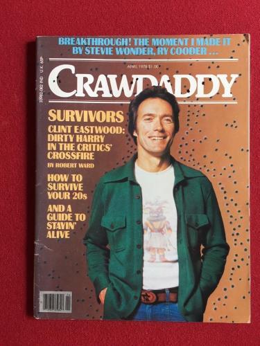 "1978, Clint Eastwood, ""CRAWDADDY"" Magazine (No Label)"