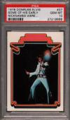 1978 Donruss Elvis #37 Some Of His Early Pop 4 Psa 10 N2477233-668