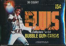 1978 Donruss Elvis Collectors Series Box Bbce Authenticated/sealed 36 Packs Rare