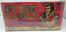 1978 Donruss Elvis Factory Sealed Case Of 16 Wax Boxes Bbce Authentic Sealed