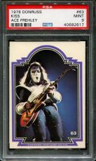 1978 Donruss Kiss #63 Ace Frehley Pop 10 Psa 9 N2576231-617