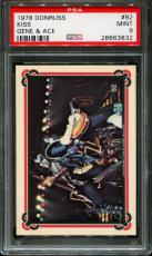 1978 Donruss Kiss #92 Gene Simmons-ace Frehley Pop 6 Psa 9 N2547364-632