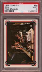 1978 Donruss Kiss #94 Paul Stanley Pop 4 Psa 9 N2223637-116