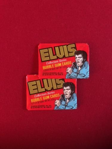 "1978, ELVIS PRESLEY, ""Unopened"" Donruss Wax Packs (2)"