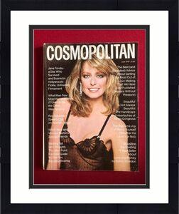 "1978, Farrah Fawcett ""COSMOPOLITAN"" Magazine  (Charlie's Angels)  (No Label)"