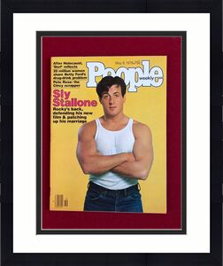 "1978, Sly Stallone  ""People"" Magazine (No Label) Scarce"