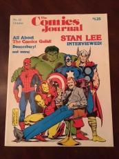 "1978 Stan Lee, ""The Comics Journal"" Magazine"