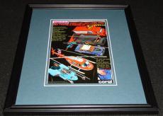 1978 Superman Corgi Toys Framed 11x14 ORIGINAL Advertisement