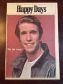 "1978, ""The Fonz"", Henry Winkler, ""Happy Days"" Show Script"