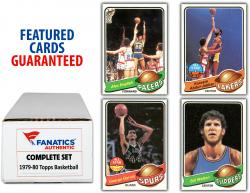1979-80 Topps Basketball Complete 132 Card Set