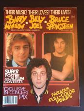 1979 Bruce Springsteen, Billy Joel, Barry Manilow Magazine