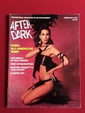"""1979, CHER, """"AFTER DARK"""" Magazine (No Label)"""