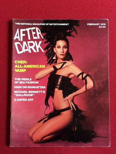 "1979, CHER, ""AFTER DARK"" Magazine (No Label)"