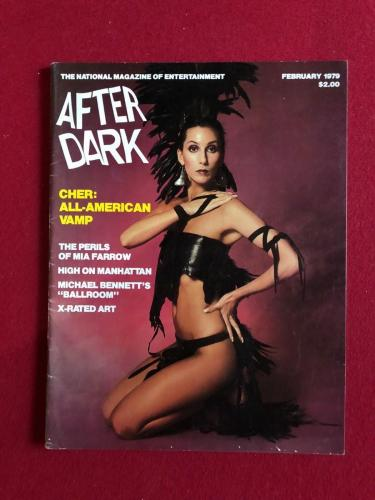 "1979, CHER), ""AFTER DARK"" Magazine (No Label) Scarce"
