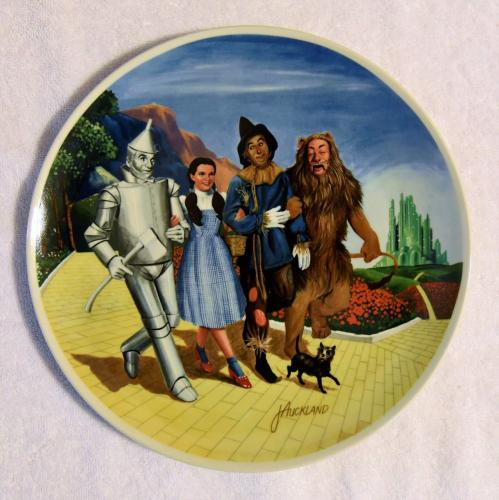 "1979 Knowles 10"" ""The Grand Finale"" 8th Wizard of Oz Limited Edition Plate w/COA"