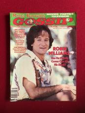 """1979, Robin Williams, """"GOSSIP"""" Magazine (No Label)"""