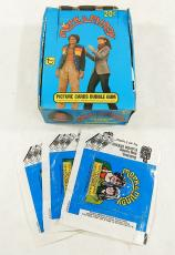 1979 Topps Mork & Mindy Empty Display Box Full of Wax Wrappers ^ Robin Williams